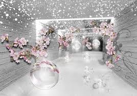 consalnet vliestapete 3d magischer tunnel verschiedene motivgrößen für das büro oder wohnzimmer kaufen otto