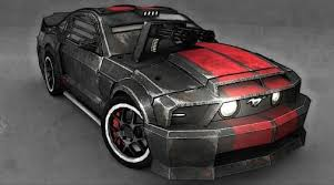 MUSTANG Death Race movie Internal bustion