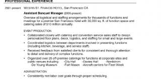 Catering Manager Resume Samples Design And Ideas Page 0