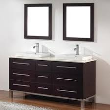 Double Sink Vanity Home Depot Canada by Abel 60 Inch Rustic Double Sink Bathroom Vanity Natural Oak Finish
