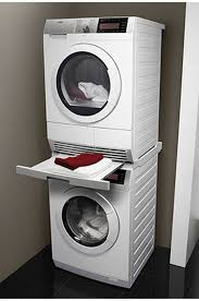 machine a laver et seche linge ordinaire kit de superposition