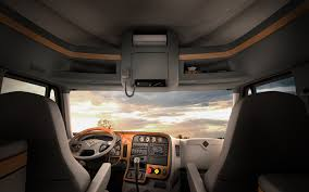 Connected And Comfortable: Next-gen Trucks Changing The Way ... Trucking Freightliner Big Rig Interiors Pinterest Rigs 2017 Volvo Vn670 Truck Overview Youtube Sleepers On Vanderhaagscom Wenartruckinterrvehicleotographystudio3 The New Scania Rseries Living In The Cab Daf Cf 440 Mx11 Sleeper Cab Tractor Exterior And Interior Cookin Inside Truck Pickup They Outfit Pickups With Cabs What Do Luxury For Longhaul Drivers Look Like Unveils Revamped Resigned 2018 Cascadia