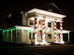 Wyllie Mansion With Christmas Decorations