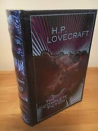 Image Is Loading H P LOVECRAFT THE COMPLETE FICTION LEATHERBOUND HARDBACK BOOK