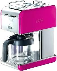 Keurig Personal Coffee Maker Pink Cup Coffeemaker Magenta Mini