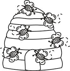 Site Image Bees Coloring Pages