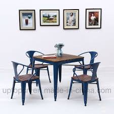 China Industrial Style Metal Restaurant Table And Chair With Wooden ... Korean Style Ding Table Wood Restaurant Tables And Chairs Buy Small Definition Big Lots Ashley Yelp Sets Glamorous Chef 30rd Aged Black Metal Set Ch51090th418cafebqgg 61 Tolix Rectangular Onyx Matt Chair Fniture Side View Stock Vector The Warner Bar In 2019 Fniture Interior Indoors In Vintage Editorial Photography Image Town Quick Restaurant Table Chairs Bar Cafe Snack Window Blurred Bokeh Photo Edit Now