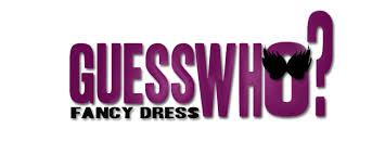 Guess Who Logo Fancy Dress LogoGuess Board Game