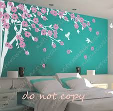 Wall Mural Decals Flowers by Wall Decals For Teenage Girls Bedroom Collection With Flowers