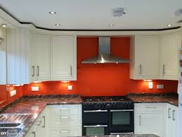Dulux Moroccan Flame Glass Splashbacks By DIY