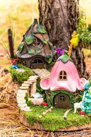 Disney Fairy Garden Decor by 47 Best Fairy Gardens Images On Pinterest Fairies Garden Fairy