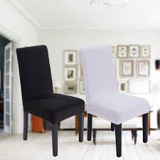 Favorable Elegant Black White Elastic Chair Cover Universal Home ... 14610pcs Stretch Velvet Ding Chair Covers Slip Seat Images Elegant Home Design Clear Plastic Kitchen Chairs Elegant Amazon Laminet All Over Decor Table Sets Space Fancy And Luxury Room Light Of For Sale Armchair Afdu Patterned Amazing Short Modern Unique White Fabric Cover With Full Length Skirt Fantastic Several Things To Consider In Top 23 Amazoncom My Super Fit Removable Fniture Parson Slipcovers