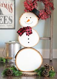 the craft patch reversible fall and christmas wood slice decoration