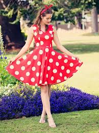 red dress with white design dress images