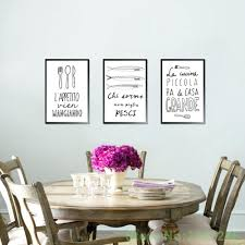 Italian Wall Art Prints Decor For Kitchens Quotes