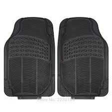 4pc Heavy Duty Rubber Floor Mats Driver & Passenger Seat Universal ... Universal Fit 3piece Full Set Ridged Heavy Duty Rubber Floor Mat Armor All Black 19 In X 29 Car 4piece John Deere Vinyl 31 18 Mat0326r01 Bestfh Truck Tan Seat Covers With Combo Alterations Mats Red Metallic Design On Vehicle Beautiful For Weather Toughpro Infiniti G37 Whosale Custom For Subaru Forester Legacy 19752005 Bmw 3series Husky Liners Heavyduty