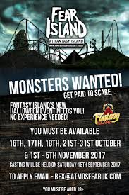 Halloween Theme Park Uk by Atmosfear Scare Entertainment Europe U0027s Biggest Scare