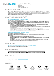Resume Examples By Real People: Dental Assistant Resume ... Entry Level Dental Assistant Resume Fresh 52 New Release Pics Of How To Become A 10 Dental Assisting Resume Samples Proposal 7 Objective Statement Business Assistant Sample Complete Guide 20 Examples By Real People Rumes Skills Registered Skills For Sample Examples Template