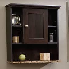South Shore Morgan Narrow Storage Cabinet by Bathroom Medicine Cabinet Wall Mount Organizer Faux Granite Shelf