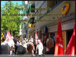 bureau des postes non à la fermeture des bureaux de poste restons mobilisé e s