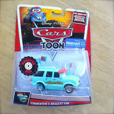 Disney PIXAR Cars TOON TORMENTOR'S BIGGEST FAN Diecast MONSTER ... Monster Jam Stunt Track Challenge Ramp Truck Storage Disney Pixar Cars Toon Mater Deluxe 5 Pc Figurine Mattel Cars Toons Monster Truck Mater 3pack Box Front To Flickr Welcome On Buy N Large New Wrestling Matches Starring Dr Feel Bad Xl Talking Lightning Mcqueen In Amazoncom Cars Toon 155 Die Cast Car Referee 2 Playset Kinetic Sand Race Blaze And The Machines Flip Speedway Prank Screaming Banshee Toy Speed Wheels Giant Trucks Mighty Back Toy