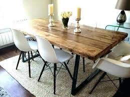Rustic Style Furniture Dining Table Medium Size Of Industrial Tables Farmhouse