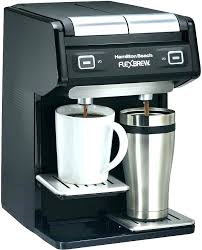 Krups Two Pot Coffee Maker Together With Dual K Cup Espresso Manual Filter Machine