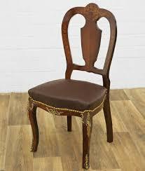 antyki i sztuka stuhl mit feston polsterung sitzmöbel edel