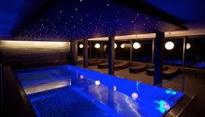 lighting swimming pool lighting design remarkable at both edges