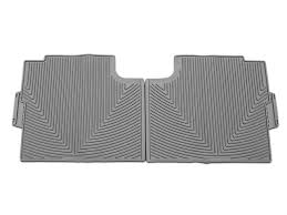 Laser Measured All Weather Floor Mats by Weathertech F 150 All Weather Rear Rubber Floor Mats Gray