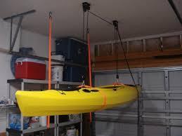 Kayak Hoist Ceiling Rack by Kayak On Ceiling Diy Canoe Outrigger Pinterest Ceiling And