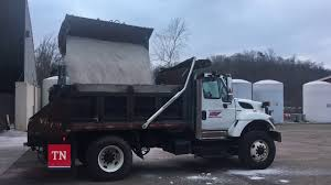 Salt Truck Loading - January 4, 2018 - YouTube Detroit Hiring Dozens Of Salt Truck Drivers Dicer Salt Spreaders East Penn Carrier Wrecker Garching Germany Small Truck At Work On Wintertime Editorial Lansing Hits Overpass Spills On Road Gps Devices Added To The Arsenal Snowfighting Equipment I See They Wont Make Same Mistake Twice Nyc 2009 Freightliner Dump Truck With Swenson Salt Spreader Eastern Surplus Food The Dirty Ice Cream Blog Driver Snow And Treatment Springfield Township Oh Official Website