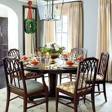 decorate round dining table round designs