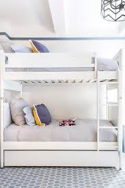 Modern Bunk Beds With Trundle Home Decor 9123