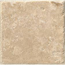 ms international chiaro 4 in x 4 in tumbled travertine floor and