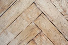 Close Top View On Vintage Parquet Floor With Geometric Mosaic Of Wood Pieces Used For Decorative