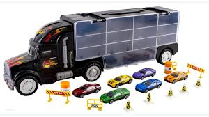 100 Toy Car Carrier Truck WolVol Transport Rier For Boys Includes 6 Cars And