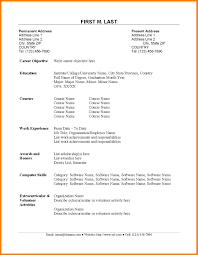 Simple Resume Template For Fresh Graduate | Linkv.net Simple Resume Template For Fresh Graduate Linkvnet Sample For An Entrylevel Civil Engineer Monstercom 14 Reasons This Is A Perfect Recent College Topresume Professional Biotechnology Templates To Showcase Your Resume Fresh Graduates It Professional Jobsdb Hong Kong 10 Samples Database Factors That Make It Excellent Marketing Velvet Jobs Nurse In The Philippines Valid 8 Cv Sample Graduate Doc Theorynpractice Format Twopage Examples And Tips Oracle Rumes