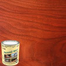 cwf deck stain home depot preserva wood 1 qt based pacific redwood penetrating exterior