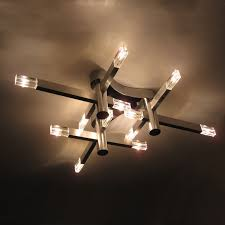 modern cube living room ceiling l simple style aluminum