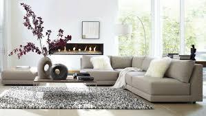 modernes wohnzimmer einrichten in den farben grau beige