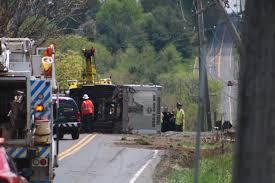 100 Dump Truck Crash UPDATED Driver Dead After Swamp Road