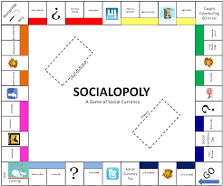 Socialopoly The Fictional Mashup Of Social Media And Monopoly