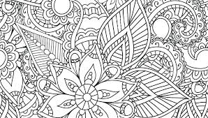 Abstract Coloring Pages To Print For Girls Art