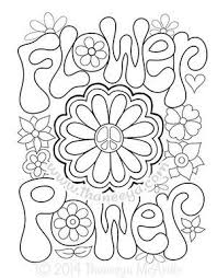 The Peace And Love Coloring Book Features 30 Groovy Illustrations To Celebrate Your Inner Hippie