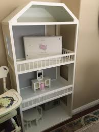 Pottery Barn Kids Doll House with ALL furniture Never played