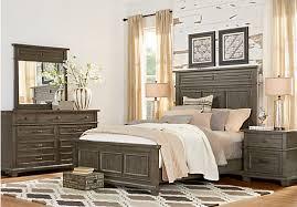 Rooms To Go Queen Bedroom Sets by Westbrook Gray 5 Pc Queen Panel Bedroom Bedroom Sets Colors