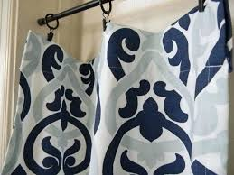 Geometric Pattern Curtains Canada by Navy Blue Patterned Curtains Navy Patterned Curtains Canada Navy