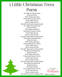 New Post Short Christmas Tree Poems