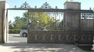 Exterior Design: Wrought Iron Gates In Inspiring Ideas For ... Sliding Wood Gate Hdware Tags Metal Sliding Gate Rolling Design Jacopobaglio And Fence Automatic Front Operators For Of And Domestic Gates Ipirations 40 Creative Gate Ideas 2017 Amazing Home Part1 Smart Electric Driveway Collection Installing Exterior Black Wrought Iron With Openers System Integration Contractors Fencing Panels Pedestrian Also